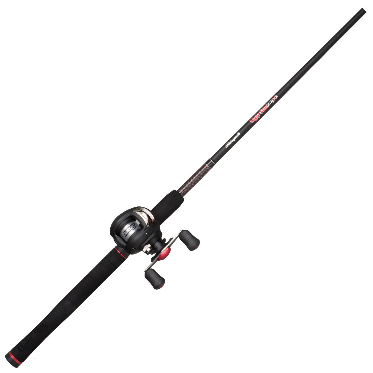 Fishing rod reel baitcast combo shakespeare ugly stik for Shakespeare fishing rod