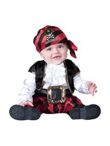 Incharacter Cap'n Stinker Pirate Halloween Cute Baby Infant Costume 16016 - $28.99
