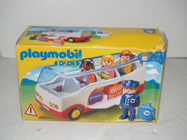 Playmobil 1-2-3 Shuttle Bus Coach 6773 Brand New in Box - $14.69