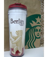 STARBUCKS BERLIN TUMBLER Insulated TRAVEL TO GO mug, 12 oz NEW - $33.99