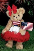 "Bearington Bears ""Starla Spangled"" 14"" Collector Bear- Sku #161990 - 2014 - $39.99"