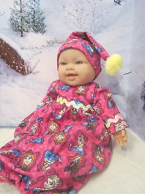 baby doll clothes 14-16
