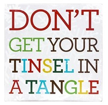 About Face Designs Tinsel in a Tangle Wall Decor