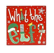 What the Elf? Wall Decor Box Sign