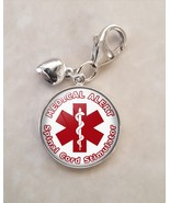 925 Sterling Silver Charm Medical Alert Spinal Cord Stimulator - $25.25