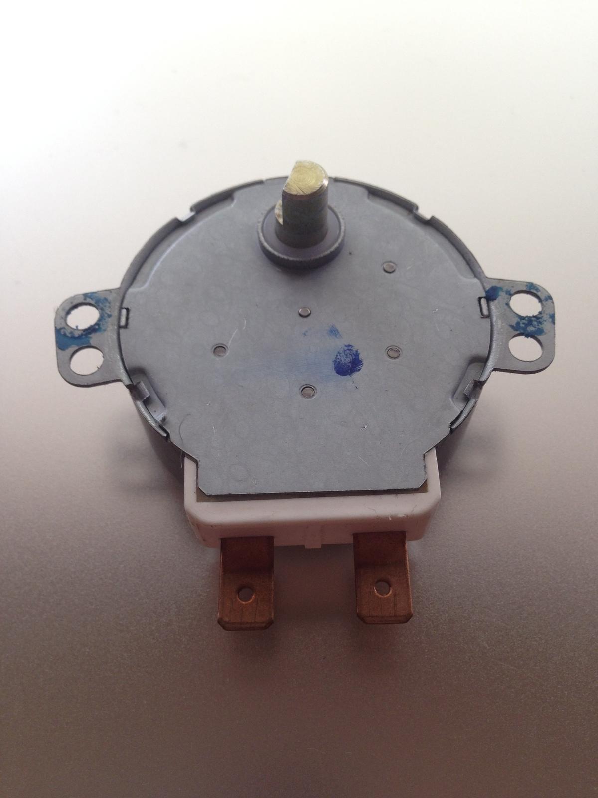 General electric microwave oem gm1612f47 turntable motor for General electric motor parts