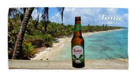 Tona Bottle of Beer Beach Bath Towel Swimming Pool Holiday Gym Vacation ... - $24.99+