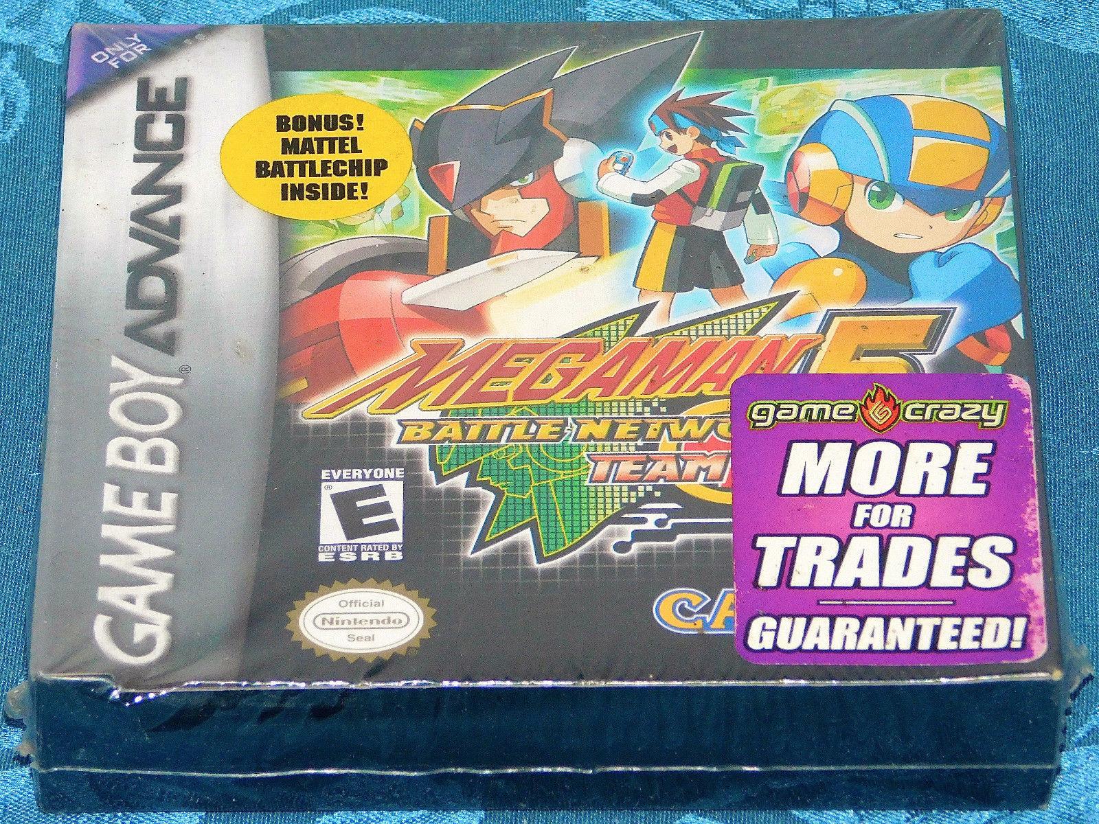 Mega Man Battle Network 5 Team Colonel Nintendo Game Boy Advance NEW SEALED NES