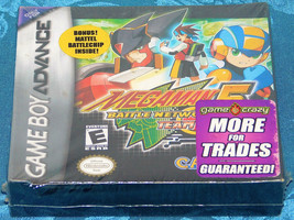Mega Man Battle Network 5 Team Colonel Nintendo Game Boy Advance NEW SEA... - $74.75
