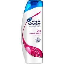 Head & Shoulders Smooth & Silky 2in1 Dandruff Shampoo + Conditioner - $14.80