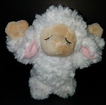 """GANZ Inspirational Lamb 9"""" Plush Sheep Stuffed Animal Toy Praying White Pink image 2"""