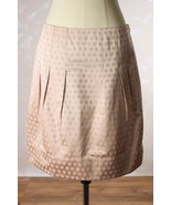 NWT Anthropologie Elevenses Pleated Shiny Pink ... - $38.95