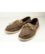 Sperry Top-Sider Leeward Boys 7 Brown Boat Shoes EU 40 - $22.00