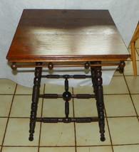Quartersawn Oak Stick & Ball Lamp Table / Parlor Table - $499.00