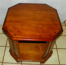 Maple Octagon End Table / Side Table by Heywood Wakefield  (RP) - $399.00