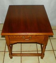Oak Bassett End Table / Side Table  (BM) - $299.00
