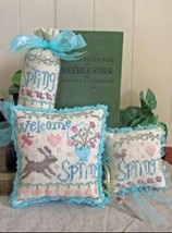 Welcome Spring Accessories cross stitch chart From The Heart  - $7.20