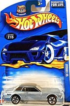 Hot Wheels 215 68 Cougar 2002 Series Blue Black Roof for Life - $8.00