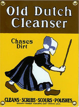 Old Dutch Cleanser Porcelain Sign - $29.95