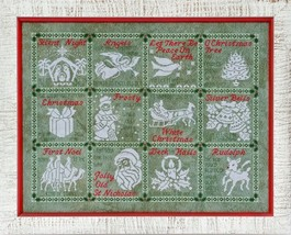 A Medley Of Carols christmas cross stitch chart Glendon Place   - $16.20