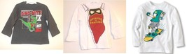 The Children's Place Infant Toddler Boys Long Sleeve T-Shirts Various NWT - $8.39