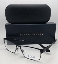 New POLO RALPH LAUREN Eyeglasses PH 1147 9038 56-16 150 Matte Black Frames