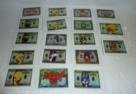 Vintage lot of 18 NOS Looney Tunes Vending Machine Stickers - $19.34