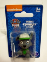 Paw Patrol Mini Figure Rocky Puppy Dog Nickelodeon 1.5 in. Stocking Stuf... - $3.99
