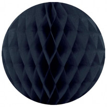 "3 pieces honeycomb balls paper decoration 2 black and 1 navy blue 12"" dia - $5.93"