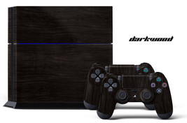 Designer Skin for PS4 Playstation 4 Console + Dualshock Controller Decals D-WOOD - $9.85
