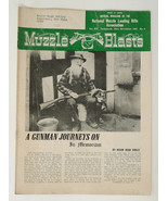 Muzzle blasts magazine Nov 1952 back issue vintage black powder firearms - $6.50
