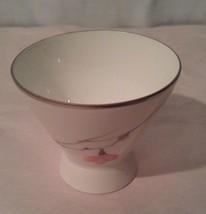 Rosenthal Japanese Quince Platinum Trim Egg Cup - $14.01