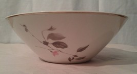 "Rosenthal Japanese Quince Platinum Trim 9"" Vegetable Bowl - $16.81"