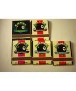 5 Vintage Camel Match Books 1995 1996 8 Ball classic  - Matchbook - $9.85