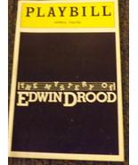 MYSTERY EDWIN DROOD Rupert Holmes PLAYBILL- Betty Buckley & George Rose - $9.50