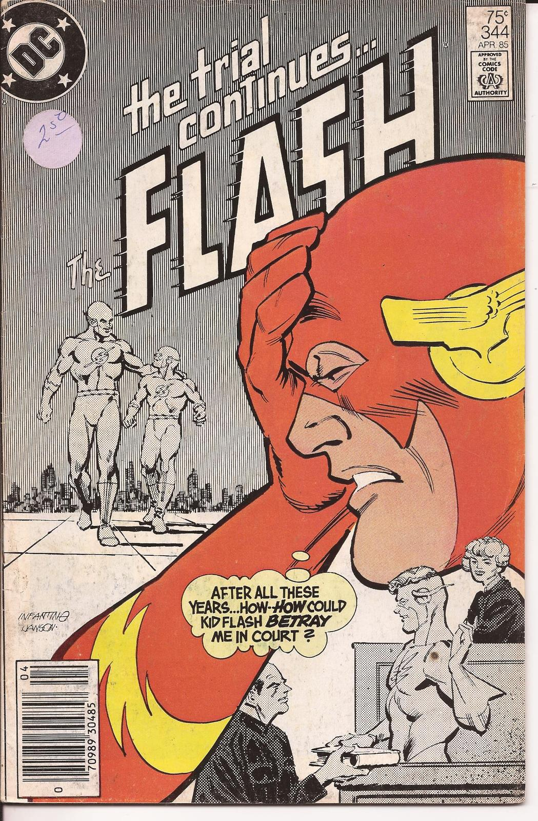 DC The Flash Lot Issues #75, 318, 335, & 344 Barry Allen Central City CW TV