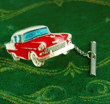 1955 Chevy car Tie tack Vintage 57 belair  Automobile Exhibition classic... - $95.00