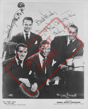8.5x11 Autographed Signed Reprint RP Photo Nat King Cole and the Trio - $12.90