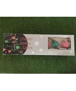 New Set Of Seven Christmas Crazy Glow Bulb Holiday String Lights - $19.79