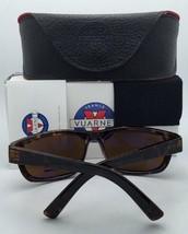 New VUARNET Sunglasses VL 1412 0004 Khaki Brown Frame w/ BROWNLYNX Mirror Lenses