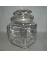 ANCHOR HOCKING Thick Glass Canister Apothecary Jar - $24.95