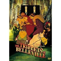 The Triplets of Belleville DVD animated feature by Sylvain Chomet - $5.19