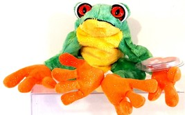 TY BEANIE BABIES COLLECTION 2001 SN 4520 – PANAMA THE TREE FROG – RETIRED - $11.73