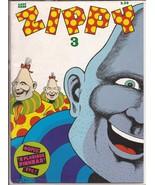 Last Gasp Zippy #3 E Pluribus Pinhead Satire Humor - $4.95