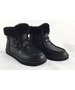 UGG Australia Cypress Black Sheepskin Fur Boots Women 8 , 9 - $109.00