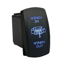 E Support™ Car 12V 20A Momentary Laser Light Button Rocker Toggle Switc... - $7.91