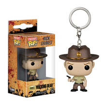 The Walking Dead - Funko POP Vinyl Keychain - Rick Grimes - $20.00