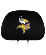 Minnesota Vikings Set of 2 Head Rest Covers -  ... - $20.42