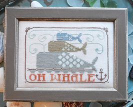 Oh Whale To The Beach Series #1 cross stitch chart Hands On Design - $5.40