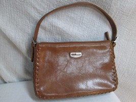 M190K Small Mini Hobo Vtg GUESS Purse Leather Purse Buckle Strap Whip St... - $23.76